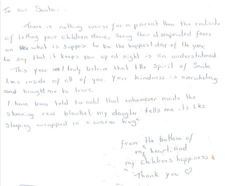 Appreciation Letter To My Sponsor from www.childrensfoundation.org