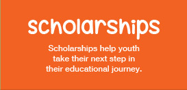 Scholarships help youth take their next step in their educational journey